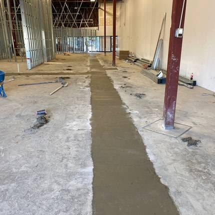 Patching Concrete Holes