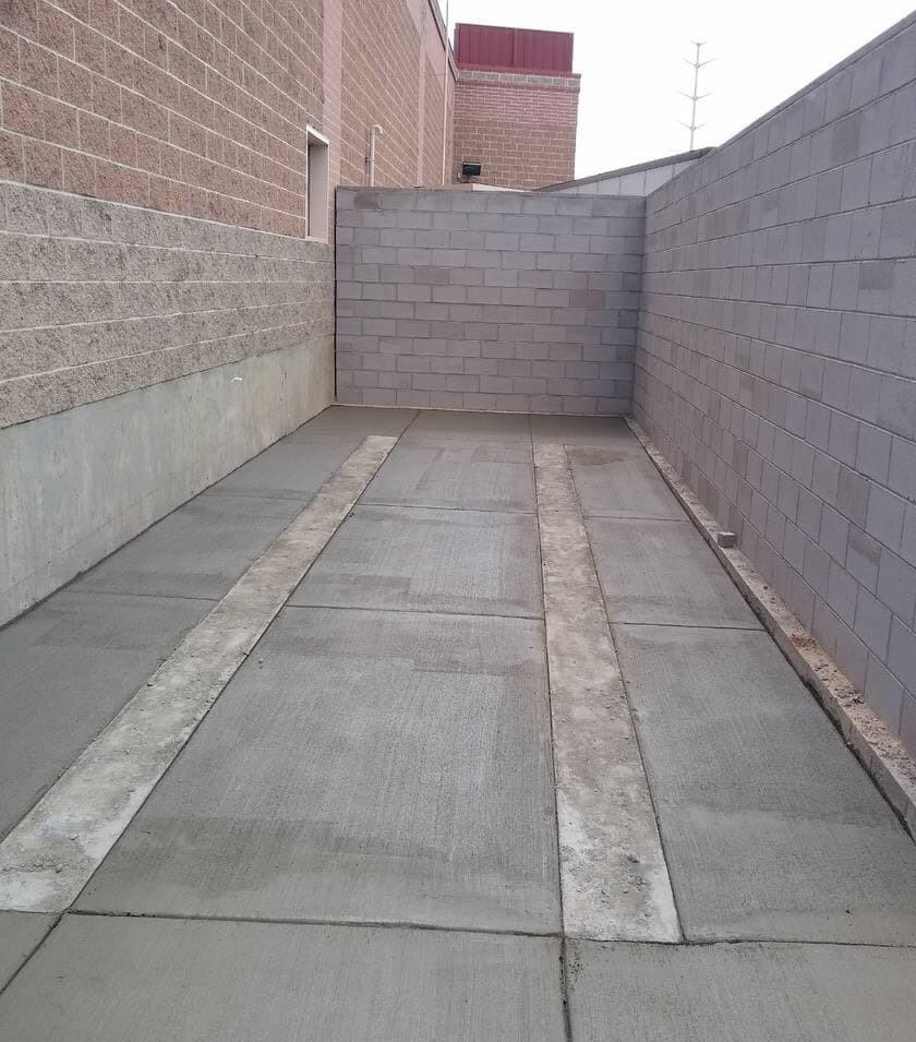 Concrete flat works in Colorado and Wyoming