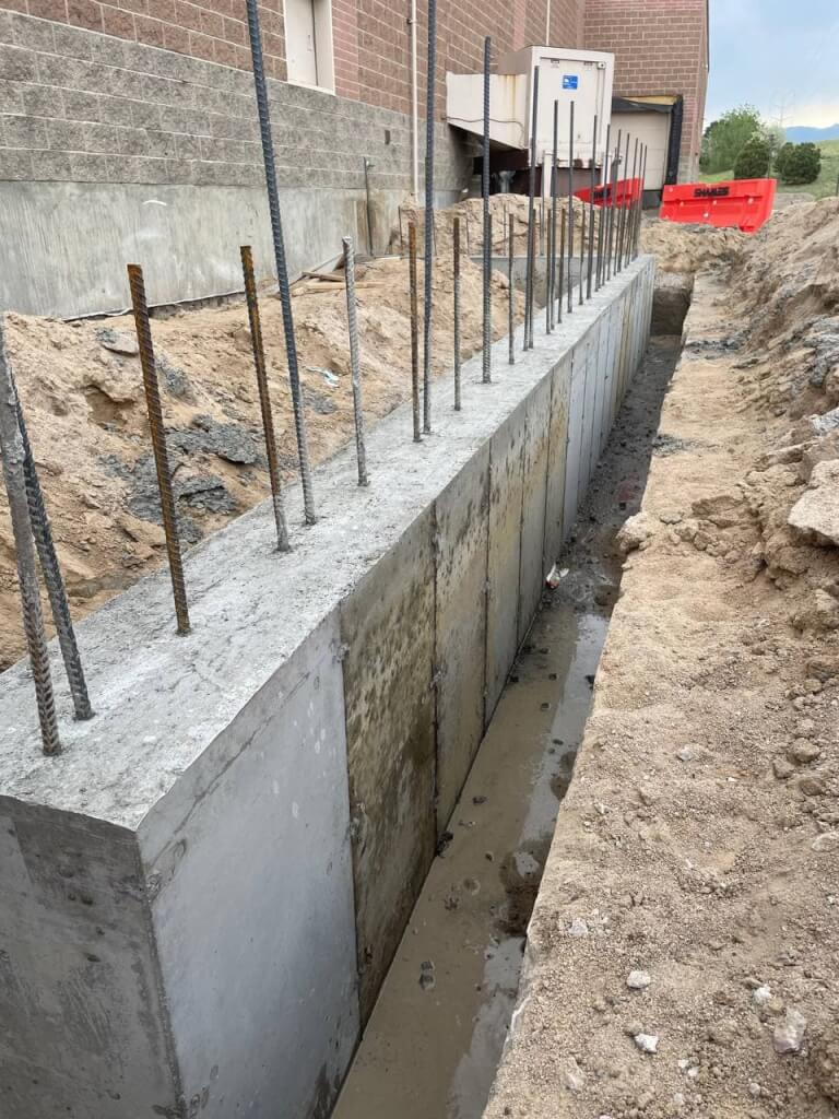 concrete foundation in Colorado and Wyoming